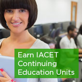 Earn IACET Continuing Education Units