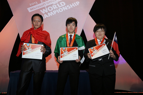 Top 3 Microsoft Word 2010 finalists