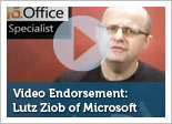 Endorsement of the MOS Program by Lutz Ziob