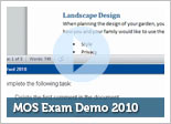 MOS Exam Demo 2010