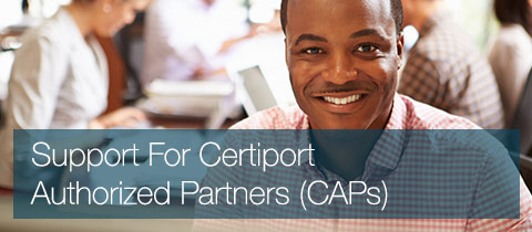 Support For Certiport Authorized Partners (CAPs)